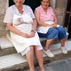 La signora e signorina del mercato Portovenere