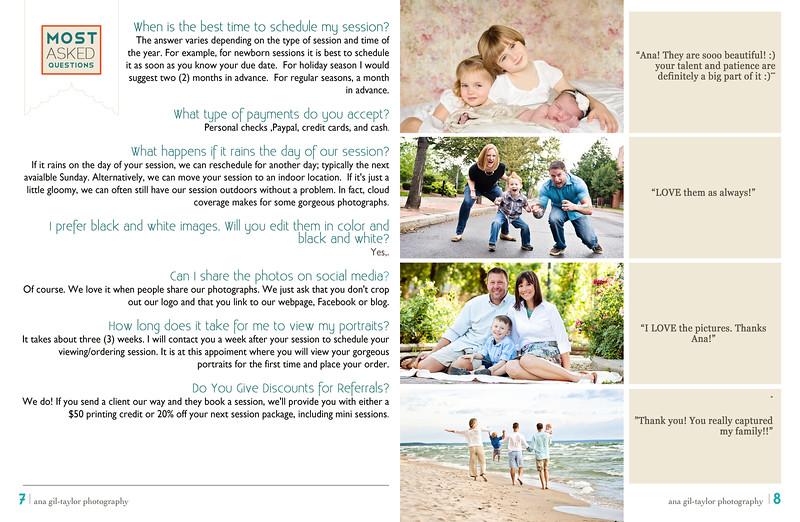 ana gil-taylor FAQ's family portraits