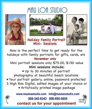 Portrait Mini Sessions