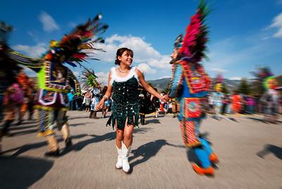 Baile mi hermana.  Carnaval de Tlaxcala.