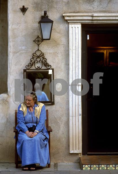 """""""Courtyard Rest/Sedona, AZ"""""""