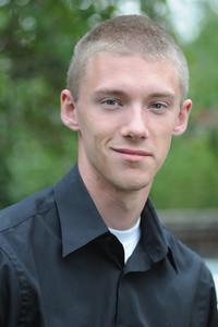 John's senior picture. October 2011.