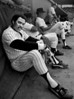 Reggie Jackson, Fort Lauderdale, Florida, 1978<br /> Photograph © 2012 Larry Singer