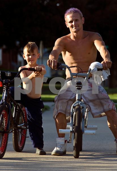 """Father & Son/Galesburg, IL"""