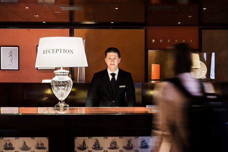 iov skills,vmbo,daan,receptionist hotel l'europe