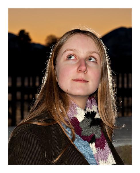 Week 1 : Sarah at Sunset - Keswick