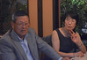 Machiko's 60th birthday, with husband, Tetsuo