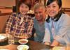 Nick, Miki-san, Yumi-san
