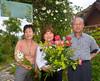 Bouquet from Hiroko's garden