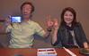 Yumiko with husband, Kaoru