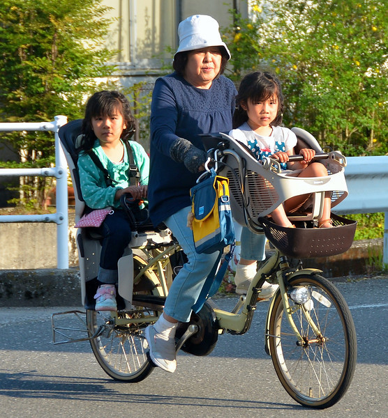 Very common form of transportation, in cities and towns.