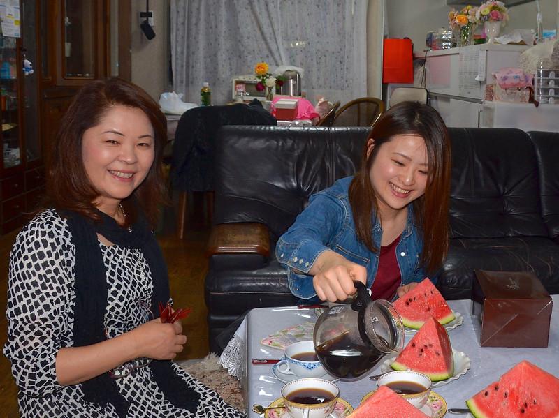 Spent several days with Chiyo's college roommate, Yumiko, and her family (daughter, Saho), near Kumamoto, island of Kyushu.