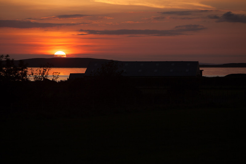 Scotland: Mull of Kintyre - Sunset from the Killean Estate