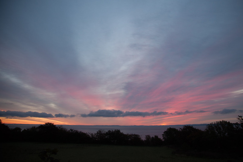 Scotland: Dawn on Arran