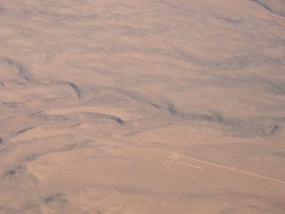 Nevada Desert, approach to Las Vegas