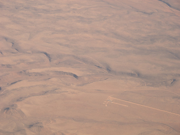 Nevada Desert, approach to Las Vegas