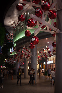 Visa sponsored Christmas - Orchard Road, Singapore