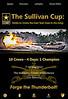Sullivan Cup Poster v3 Flat
