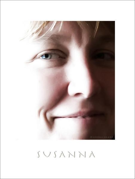 Susanna Sharp.  Image captured Sept 22,2008  Two Sisters Cafe, Homer AK   I really love her smile.