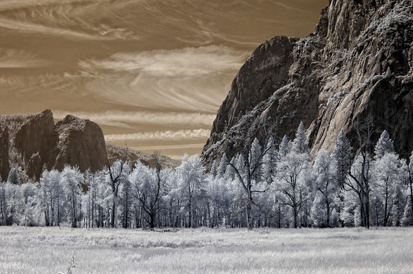 Yosemite in Infrared Yosemite Valley submitted by: Michael Greely from USA