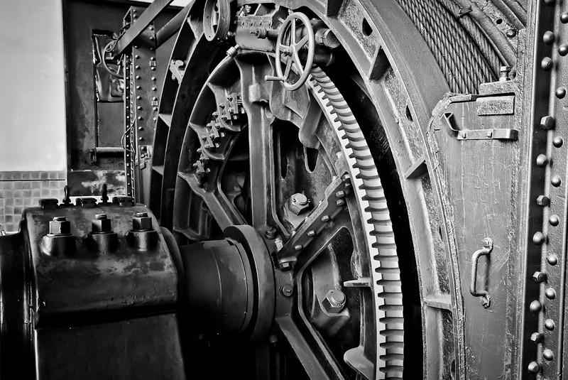 Engine of elevator