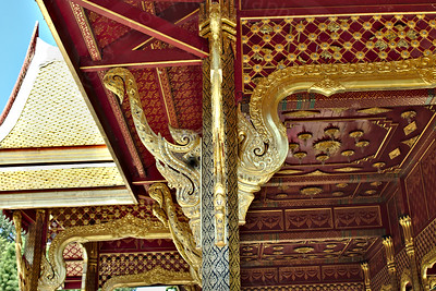 Thai Pavilion Interior
