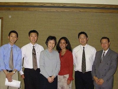 Tracy's Mission Farewell - Aug 2002