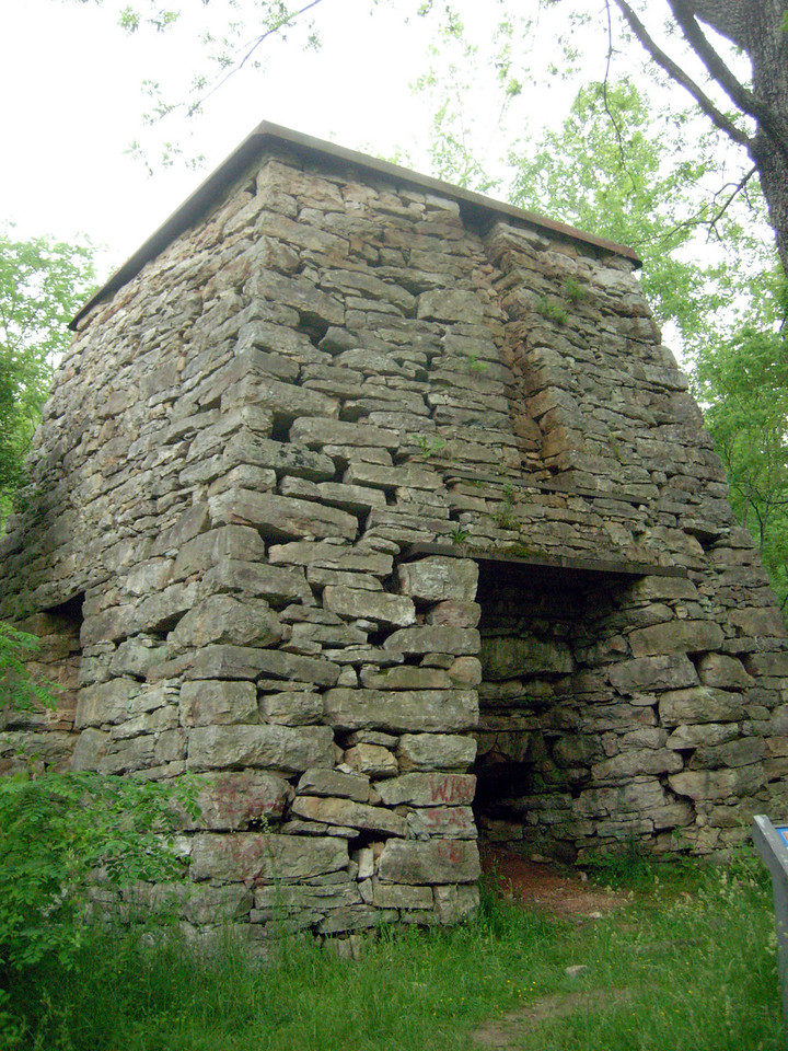Katherine Furnace, location of Daughter of the Stars letterbox