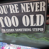 """You're Never Too Old to Learn Something Stupid<br /> Posted: 06/29/11 07:59 PM ET<br /> <br /> <a href=""""http://www.huffingtonpost.com/john-fox/youre-never-too-old-to-le_b_885034.html"""">http://www.huffingtonpost.com/john-fox/youre-never-too-old-to-le_b_885034.html</a>"""