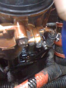 Fuel leaks.