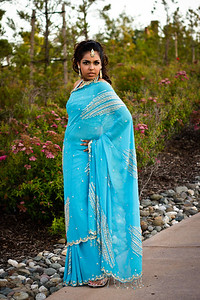 Model: Pramita Din  Make-up Artist: Michelle Kinkaid www.glamourviews.com Hair: Carrie Bailon MacDonald