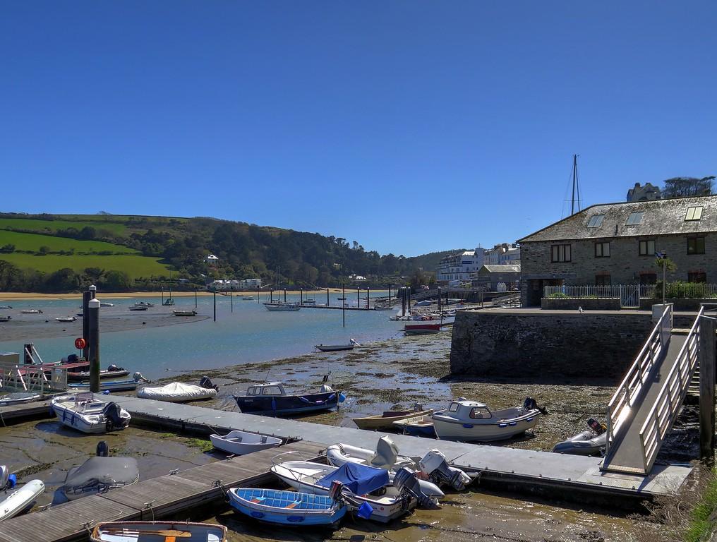 Salcombe harbour.