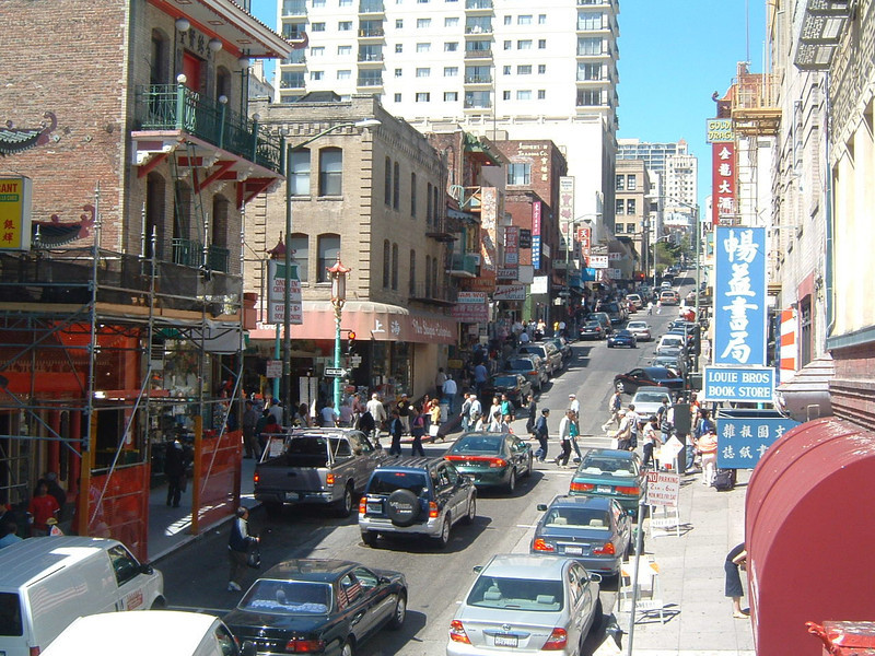 Day 4 - a) Grant Street - China Town