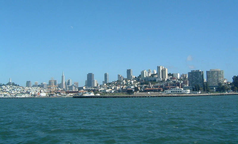 Day 1 - a9) View of SF - Transamerica and Coit