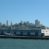 Day 1 - a8) View of SF on ferry in Bay