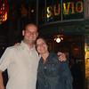 Day 1 - c8) Us outside Vesuvio Pub