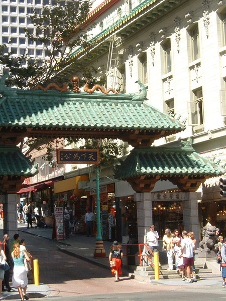 Day 1 - a) Entrance to China Town