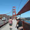 Day 3 - b2) Kelley cycling over GG Bridge