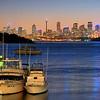 HDR: Sunset, Sydney, Australia from Watson's Bay.