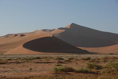 Sand dunes, Namib-Naukluft National Park, Namibia.