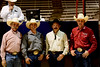 Our Ranch Horse Competition judges from left to right - Joe Gotti, Chance O'Neal, Brian Summerall and Mozaun McKibben