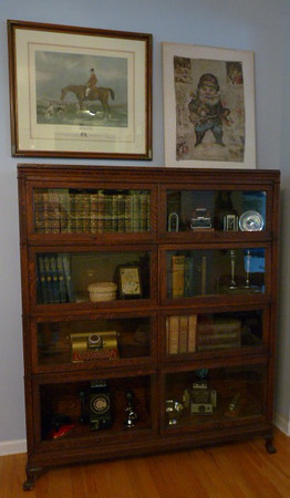 The best barrister bookcase stack we've offered! Macey.
