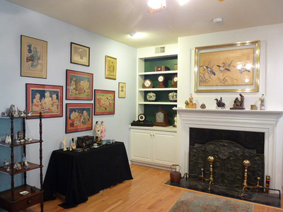 Asian prints, Royal Copenhagen figurines, and more!