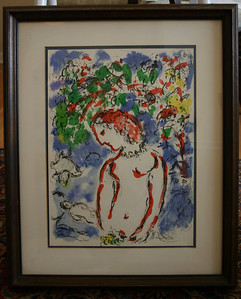 Chagall w/artists guild info on back