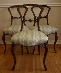 Sweet antique Victorian chairs