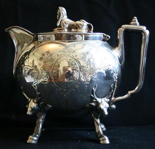 Incredible figural tea pot