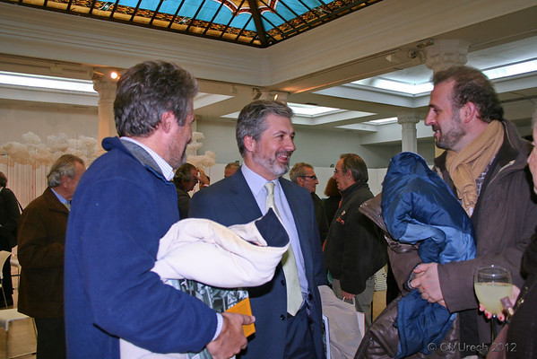 Tito, Alvaro y Javier.