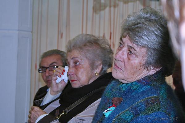 Julio, Hortensia y Maribel.
