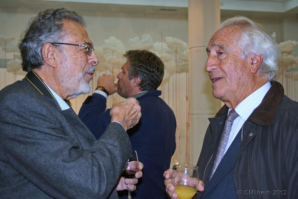 José Manuel, nuestro primo, y mi hermano Jose.