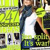 Grazia - 1st September 2008 Cover